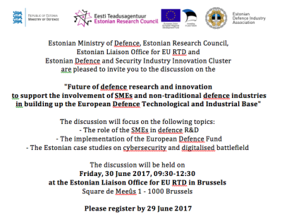 Defence Seminar Invitation 30.06